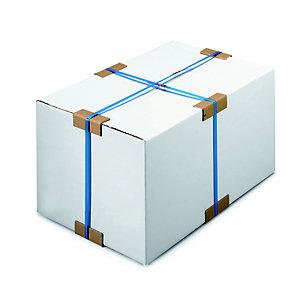 Angle de protection parafeuillard en carton recyclé 35 x 100 mm - Brun