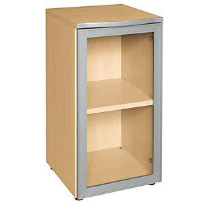 """Anta in legno con serratura per armadio basso a giorno nostro codice 719937 """"Linea Avantis"""" - Acero"""