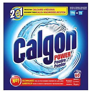 Anticalcaire lave-linge Calgon poudre 2 en 1, 60 doses