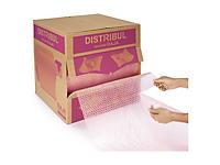 Antistatische, vorgeschnittene Luftpolsterfolie in der Spenderbox DISTRIBUL