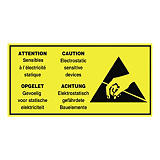 Antistatisk etiket