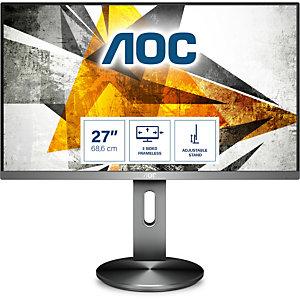 """AOC Pro-line I2790PQU/BT, 68,6 cm (27""""), 1920 x 1080 Pixeles, Full HD, LED, 4 ms, Gris"""