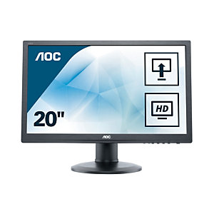 "AOC Value-line M2060PWDA2, 49,6 cm (19.5""), 1920 x 1080 Pixeles, Full HD, LED, 5 ms, Negro"
