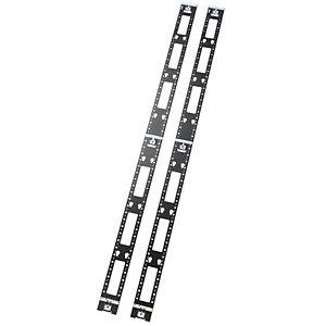 APC AR7502, Panel de gestión de cables, Negro, 42U, 117 mm, 13 mm, 1930 mm