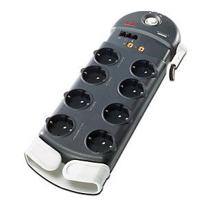 APC Performance SurgeArrest 8 Outlets w/ Phone / Coax Protection 230V Germany, 2500 J, 8 salidas AC, Tipo F, 230 V, 50 - 60 Hz, 10 A PL8VT3-DE