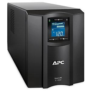 APC SMC1000IC, Interactivité de ligne, 1000 VA, 600 W, Sinus, 170 V, 300 V
