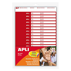 Apli (12523) Pulseras identificativas