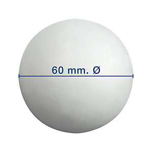 Apli Bolas de porexpan 60 mm