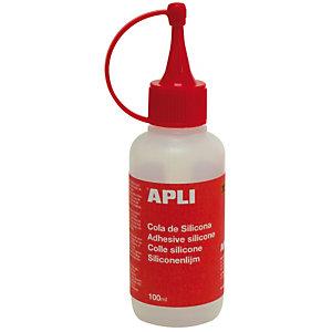 Apli Cola de silicona líquida para manualidades 100 ml