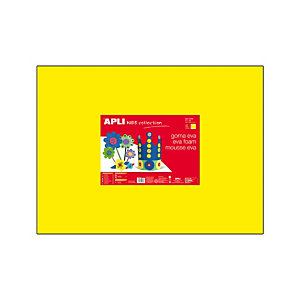 Apli Goma EVA 40 x 60 cm - amarilla