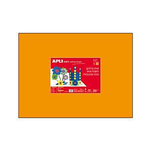 Apli Goma EVA 40 x 60 cm - naranja