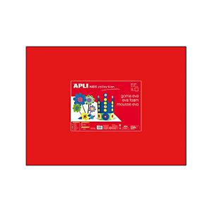 Apli Goma EVA 40 x 60 cm - roja