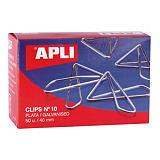 Apli No.10 clips de papeles