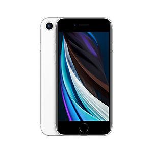 "Apple iPhone SE, 11,9 cm (4.7""), 1334 x 750 Pixeles, 64 GB, 12 MP, iOS 14, Blanco MHGQ3QL/A"
