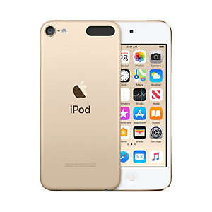 Apple iPod touch 128GB, Lecteur MP4, 128 Go, IPS, Lightning, Or, Casque audio MVJ22NF/A