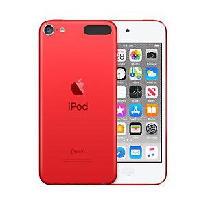 Apple iPod touch , Lecteur MP4, 128 Go, IPS, Lightning, Rouge, Casque audio MVJ72NF/A