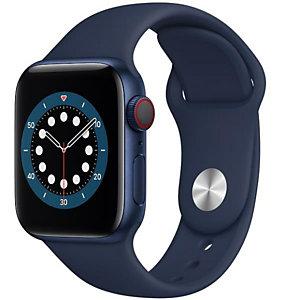 Apple, Smartwatch, Aw s6 40 blu al navy sp cel, M06Q3TY/A