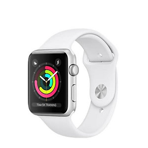 Apple, Smartwatch, S3 42 silver white, MTF22QL/A