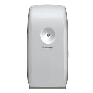 Aquarius (Kimberly-Clark) Ambientador dispensador en plástico blanco de funcionamiento a pilas