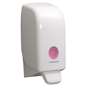 Aquarius (Kimberly-Clark) Aquarius Dispensador manual de jabón cartucho plástico 1 l