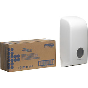 Aquarius (Kimberly-Clark) Aquarius™ Dispenser per carta igienica Bianco 169 x 123 x 338 mm