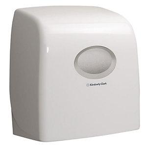 Aquarius (Kimberly-Clark) Slimroll* Dispenser di rotoli asciugamani Manuale Extra-lucido Bianco