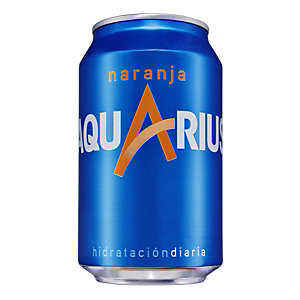 AQUARIUS Refresco naranja, 330 ml