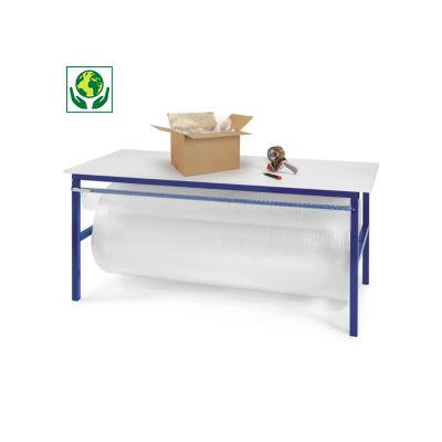 Arbeitstisch mit integrierter Abrollvorrichtung