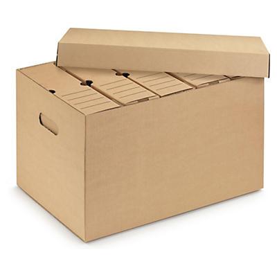 Archivačné krabice na zakladače a šanóny