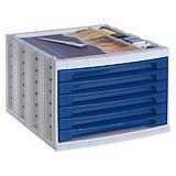 ARCHIVO 2000 Archivotec Serie 6000 módulo 6 cajones azul