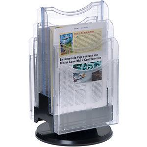 ARCHIVO 2000 Expositor de sobremesa Archiplay, 6 compartimentos, A4 vertical, 275 x 465 mm
