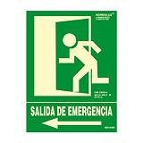 ARCHIVO 2000 Señalización luminosa de evacuación - Salida de emergencia izquierda