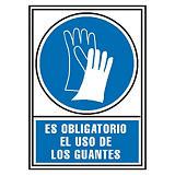 ARCHIVO 2000 Señalización - Es obligatorio el uso de los guantes