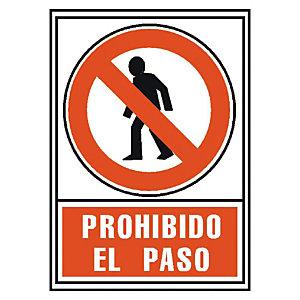 ARCHIVO 2000 Señalización - Prohibido el paso