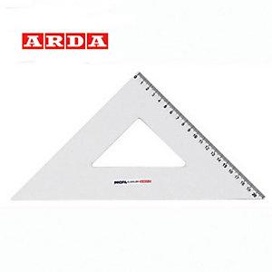 ARDA Squadra linea Profil - alluminio - 45gradi - 30cm - Arda