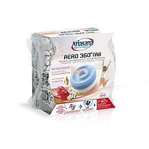 Ariasana Aero 360° Aromaterapia Ricarica Universale in Tab profumata per Sistema Assorbiumidità, Energia Fruttata, 450 g