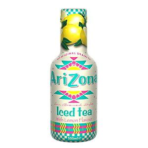 AriZona AriZona Tè verde, Limone, Bottiglia 500 ml (confezione 6 pezzi)