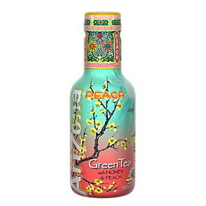 AriZona AriZona Tè verde, Miele e Pesca, Bottiglia 500 ml (confezione 6 pezzi)