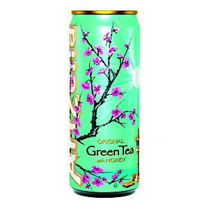 AriZona Tè verde, Miele, 330 ml (confezione 24 pezzi)