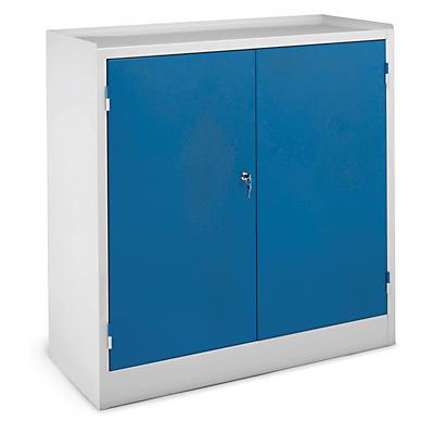 Armoire basse d'atelier 2 portes battantes