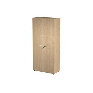 Armoire haute Wood 2 portes battantes Chêne