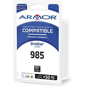 ARMOR Cartouche d'encre remanufacturée compatible Brother LC985 - Noir