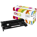 ARMOR OWA Toner d'encre remanufacturé, compatible pour HP 26X CF226X - Noir