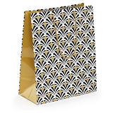 Art Deco Lackpapier-Tragetasche