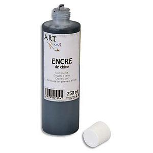 ART PLUS Encre de chine Noir 250ml