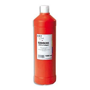 ART PLUS Gouache liquide 1 litre rouge carmin prete a l'emploi