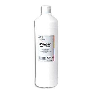 ART PLUS Gouache prête à l'emploi 1 litre blanc
