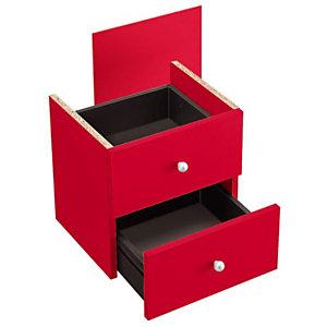 ARTEXPORT FLORENCE ITALY Cajones rojo Maxicolor, pack de 2