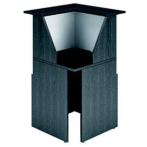 ARTEXPORT FLORENCE ITALY Mostrador cerrado negro/blanco
