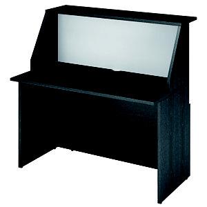 ARTEXPORT FLORENCE ITALY Mostrador de recepción recto 120 cm negro/blanco